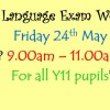 English Language Exam Workshop