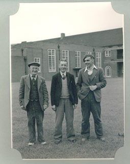 The Caretakers (from left): Mr L. Lee; Mr. Neild; Mr. Perkins