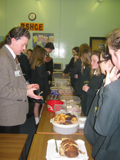 Year 8 Student Voice Cake Sale