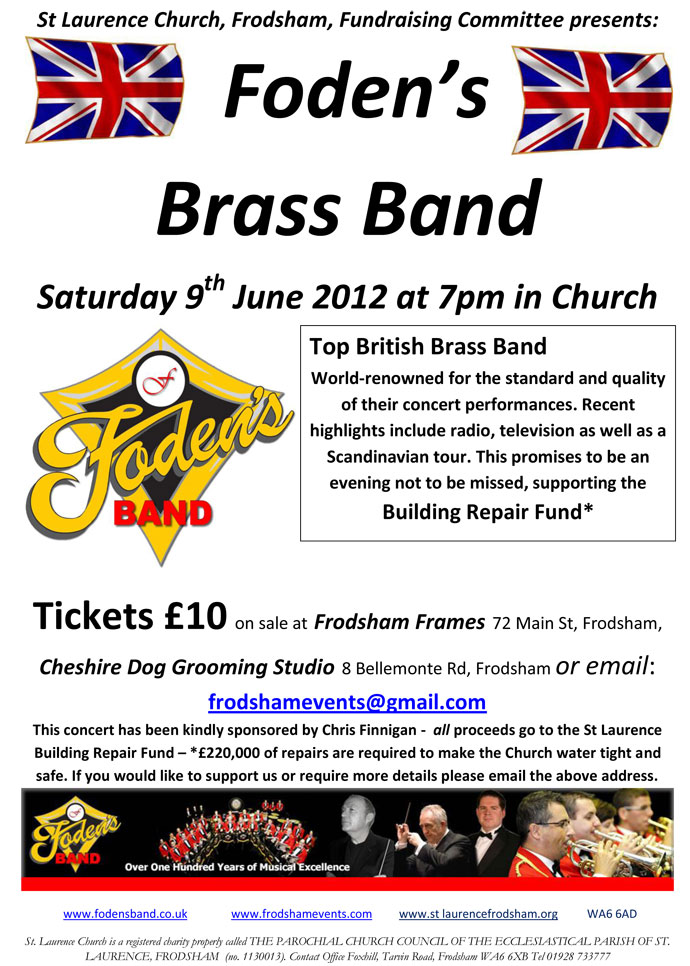 Fodens June 2012 Poster