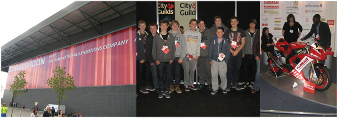 Year 11's Visit to World Skills London 2011