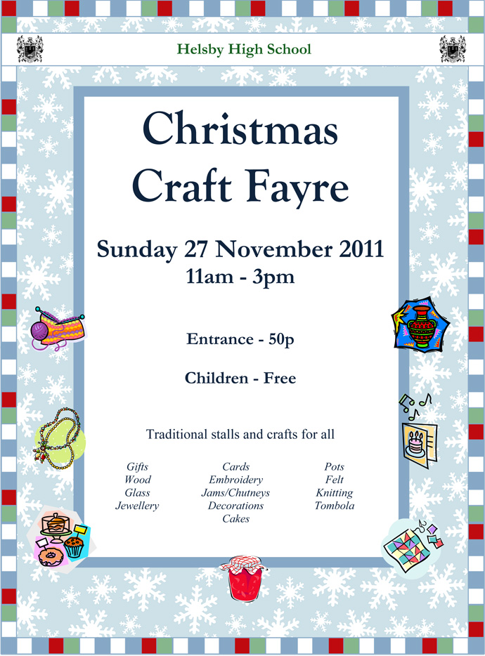 Christmas Craft Fayre 2011