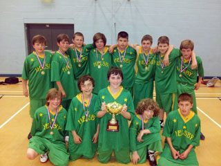 Year 7 Basketball Team wins North-West Tournament - Helsby High School