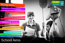 Click here to view the aims of Helsby High School