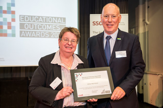 SSAT Outcomes Award 2015 (photo May 2016)